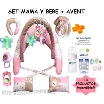 Almohada Amamantar+set Gym+kit Avent.
