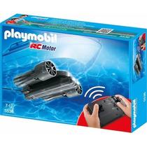 Playmobil 5536 Motor Submarino Rc Barco Piratas Retromex