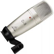 Microfone Condensador Behringer C3 Musical Baruk