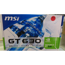 Placa De Vídeo Msi Gt630 Ddr3 128bit (outlet)