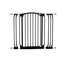 Dreambaby Extra Tall Swing Close Gate With Extensions, Blac