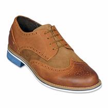 Zapatos Oxford Bostoneanos Miel 035c06 Envío Gratis *