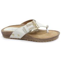Sandália Rasteira Zariff Shoes Pedras 602 | Zariff