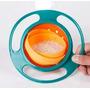 Gyro Bowl, Tazón Giratorio 360 Antiderrames. 2 Colores