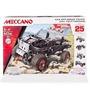 Meccano Set De 25 Modelos- Camioneta 4x4 Todo Terreno- 16212