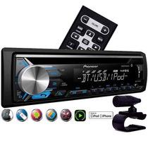 Radio Pioneer Bluettooth Mp3 Rca Usb Mixtrax Deh 3980bt