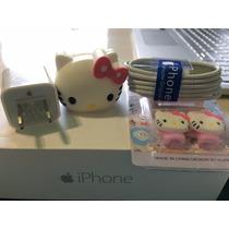 Cargador Original Para Iphone 5c,5s , Iphone 6 + Cubre Cubo