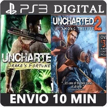 Uncharted Dual Pack 1 E 2 Ps3 Psn Cod