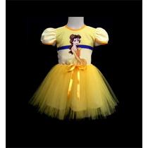 Vestido Infantil Festa Princesa Bela Bailarina