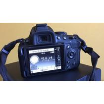 Câmera Fotográfica Nikon D5100 Corpo, Bateria E Carregador