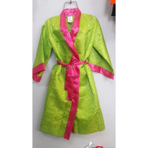Disfraz Kimono Japonesa Geisha Colores Vestido Oriental