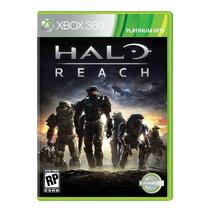 Halo Reach Xbox 360 Platinum Hits Nuevo Y Sellado