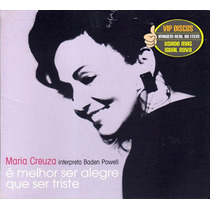 Cd Maria Creuza Interpreta Baden Powell - Impecável - Raro