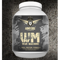 Army Dog, War Machine 1kg Proteina Perro Hidrolizada