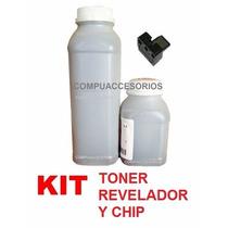Kit Sharp Toner Revelador Y Chip Copiadora Al 2031 2041 2051
