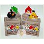 Caixa Cubo 3d Angry Birds Festa Decoração Aniversário C/10