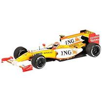 Juguete Modelo De Coche Minichamps 1/43 Ing Renault F1 Team