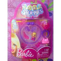 Barbie Squinkies Set Para Hacer Pulsera Y Anillo Modelo 1