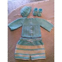 Conjuntos Para Bebé Tejidos En Crochet