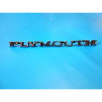 Emblema De Cofre Plymouth Barracuda Y Valiant Duster