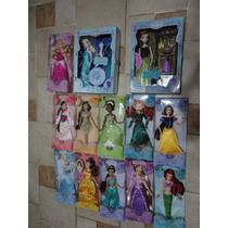 Princesas Disney 10 Bonecas Ana Elsa Canta Frozen Disney