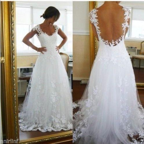 vestido de novia lucia - $ 800.000 en mercado libre
