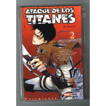 Ataque De Los Titanes No Regrets - Tomo 2 - Editorial Panini