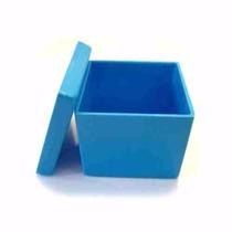 Caixinha 5x5 Azul Pacote C/ 100 Unidades