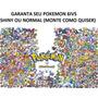 Pokémon Sun Moon Or As X Y 3ds Shiny Lendário Competitivo