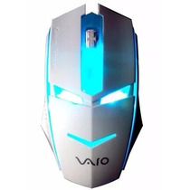 Mouse Gamer Hp Dell Acer Sony Usb Optico Pc Laptop Luces Mdj