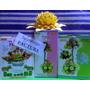 20 Pares Moldes Para Hacer Flores C/ Goma Eva - Mini Ful Ros