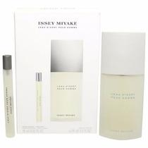 Perfume Leau Issey Miyake Men 75ml + 10ml Giftset Regalo Top