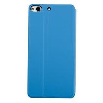 Blu Life Pure L240 Funda Flip Smart Shell Stand Case Azul