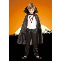 Disfraz De Dracula Para Niños/halloween