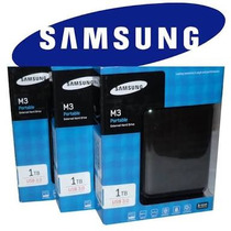 Hd Externo 1t Samsung Novo Usb 3.0 Frete Para Todo Pais 16 R