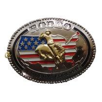 Fivela Country Cowboy Forever America Rodeios Para Cinto
