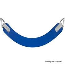 Caucho Comercial Del Cinturón De Seguridad Azul Con Logo Sss