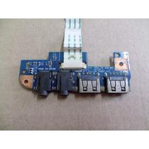 Placa Áudio + Usb Notebook Acer Aspire 4551-2615