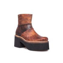 Zapato Botineta Con Recortes Clona Para Mujer Oficial