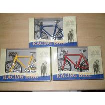 Coleccion Bicicleta Escala 1:10 Colores Funcionando Regalo