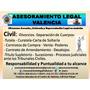 Asesoramiento Legal, Rápido Y Eficaz