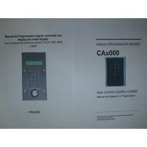 Manual Programador Sagres Prd 1000 Y Sovica, Dig Y Analog.
