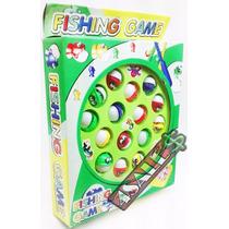 Brinquedo Jogo Pega Peixe Pesca Maluca Pescaria Pilha Grátis