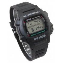 Relógio Casio W740 Cronômetro / Timer Prova Dágua 100 Mts Pr