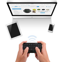 Mini Teclado Inalámbrico Bluetooth Negro Smartphone Tablet