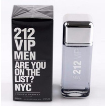 Perfume 212 Vip Men Masculino 200ml Carolina Herrera