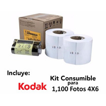 Kit Para Impresora Kodak 605 (1,100 Fotos 4x6 )