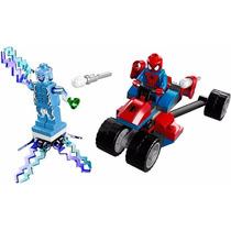 Lego - Super Heroes 76014-el Trike Araña Vs Electro