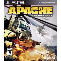 Jogo Novo Lacrado Apache Air Assault Para Playstation 3 Ps3