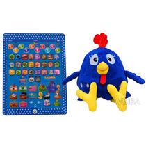 Tablet Educativo Infantil Da Galinha Pintadinha + Pelucia